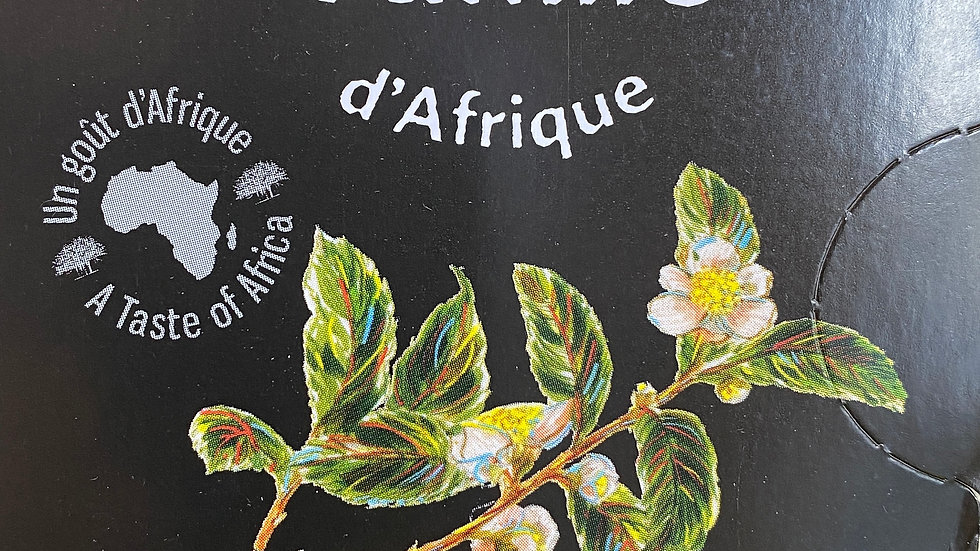 Thé noir de Tanzanie, saveur Vanille BIO