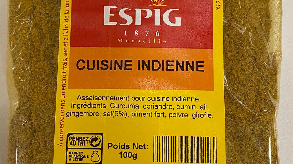 Cuisine indienne 100g