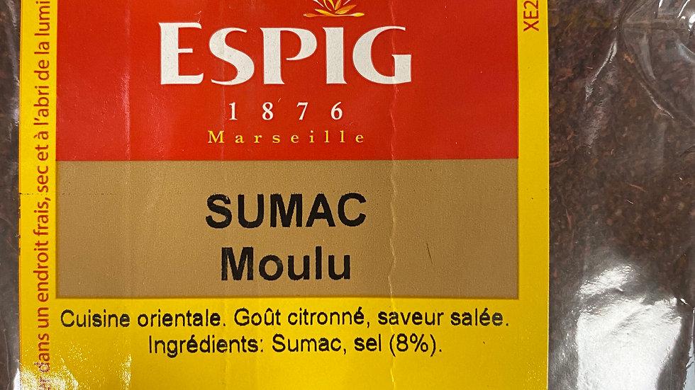 Sumac Moulu 100g