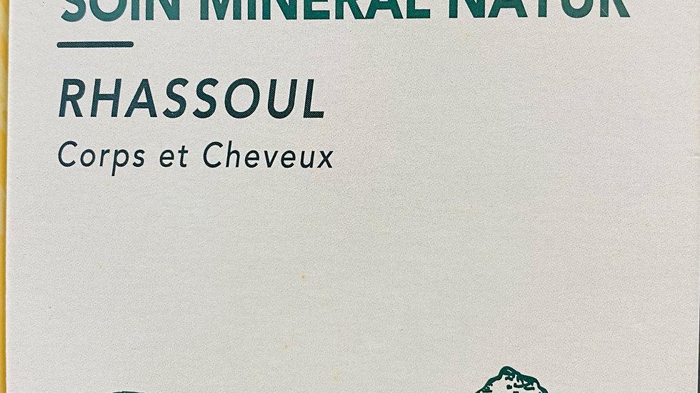 Soin minéral Rhassoul: Corps et cheveux