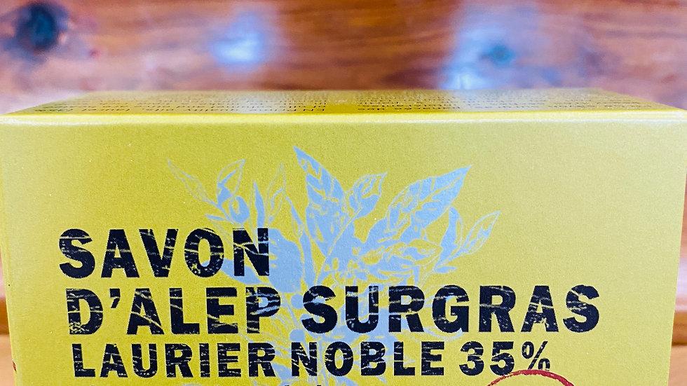 Savon d'Alep Surgras Laurier noble 35%