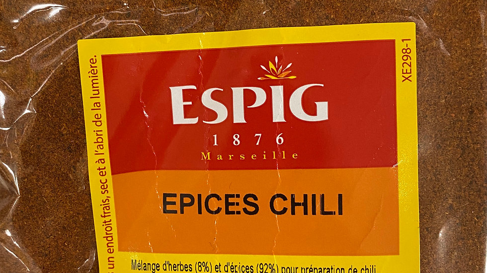 Epices Chili 100g