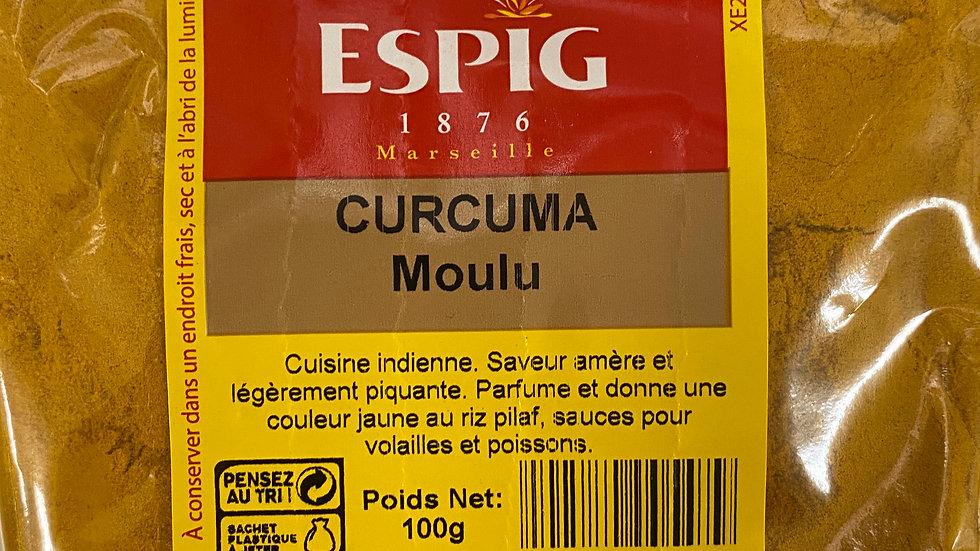 Curcuma Moulu 100g