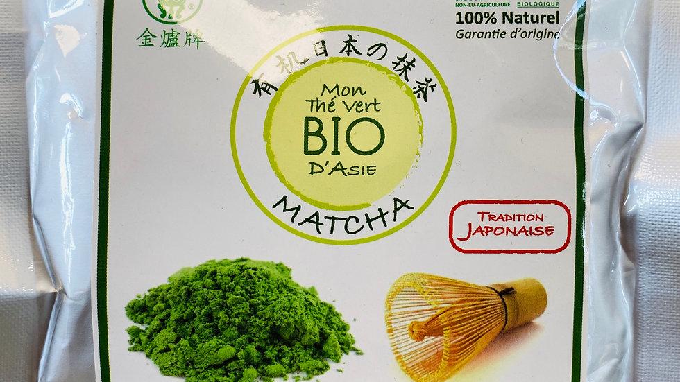 Thé vert au MATCHA BIO