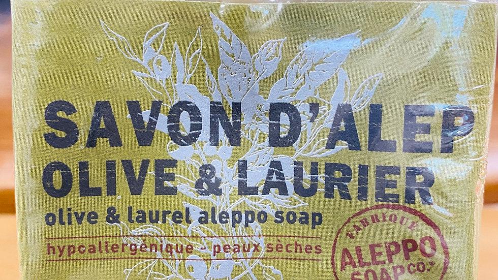 Savon d'Alep- Olive et Laurier 200g