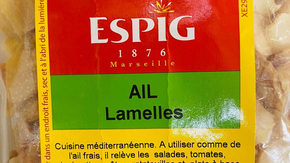 Ail Lamelle 100g