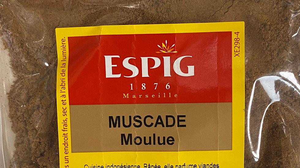 Muscade Moulue 50g