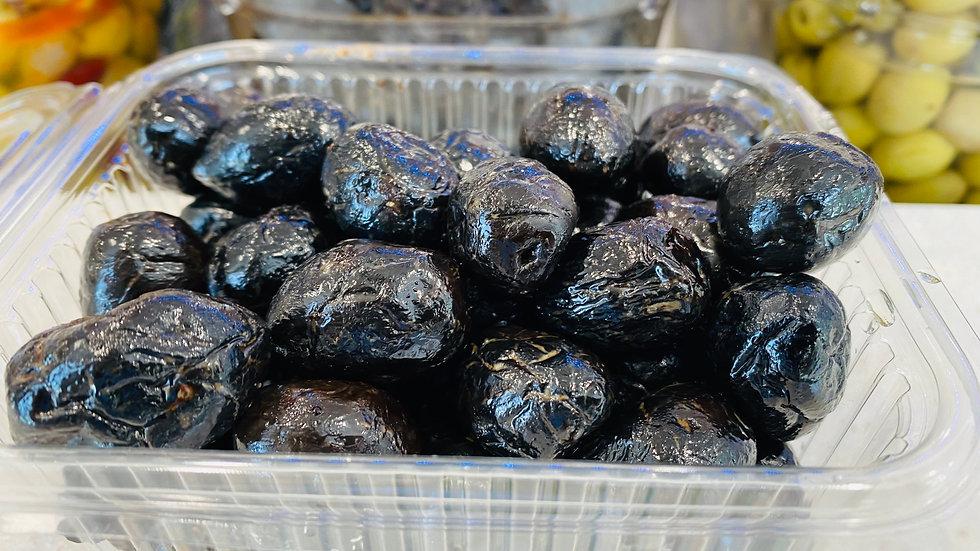 Olives noires façon grecques 500g