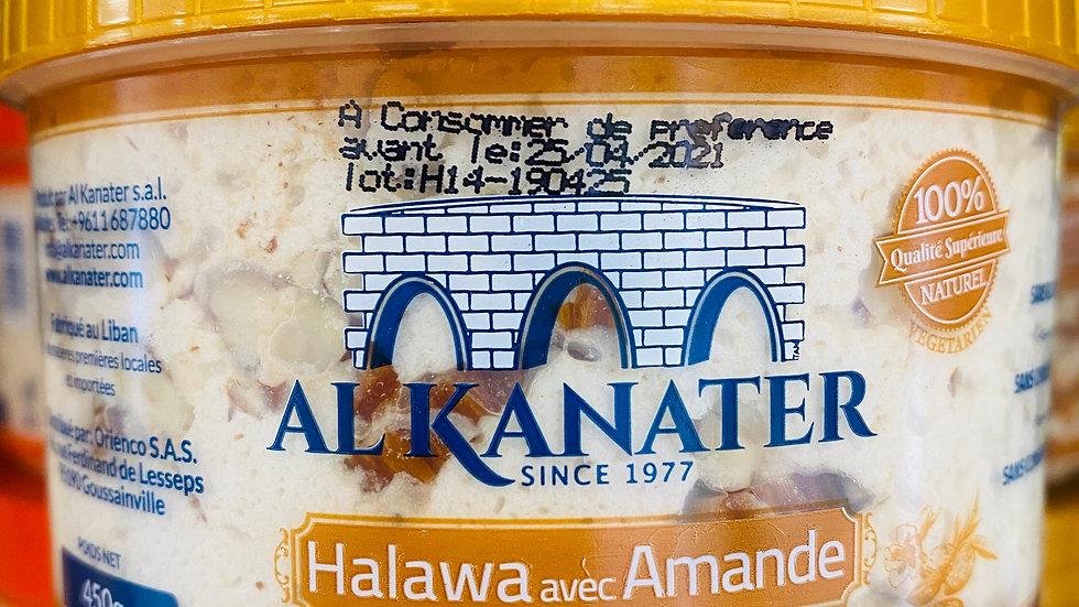 Halva aux amandes Sans gluten AL KANATER