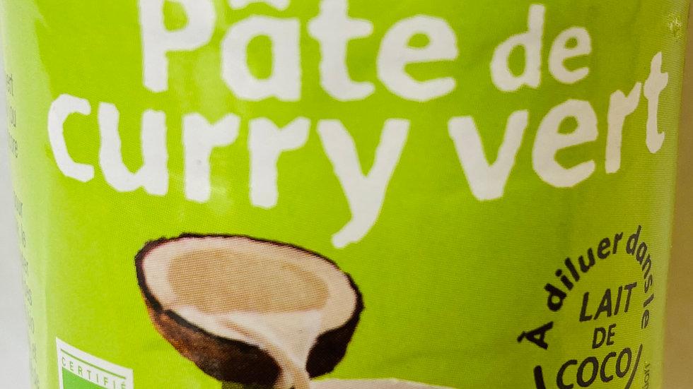 Pâte de curry vert BIO