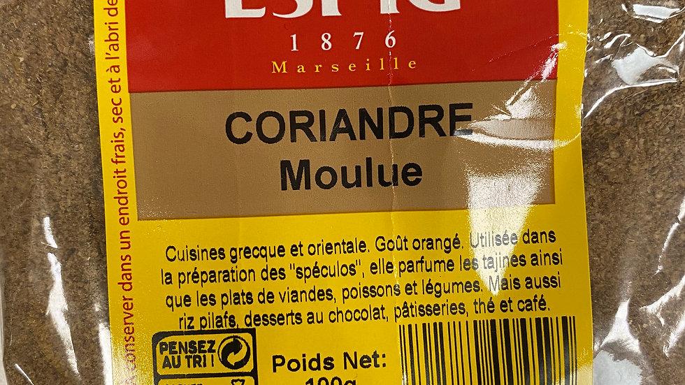 Coriandre Moulue 100g
