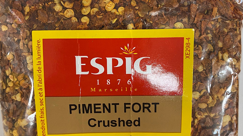 Piment fort Crushed 100g