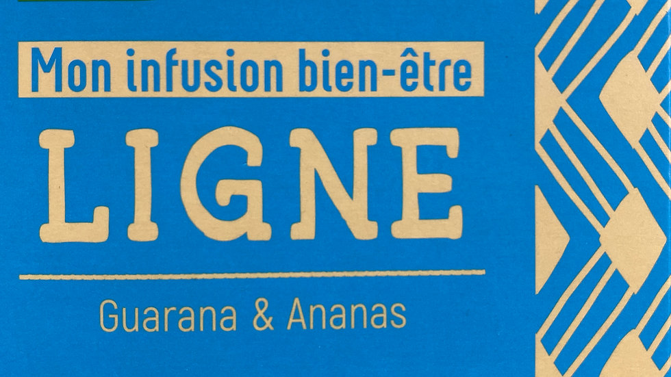 Infusion Bien-êtreLIGNE: Guarana & Ananas BIO