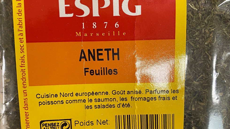 Aneth Feuilles 50g