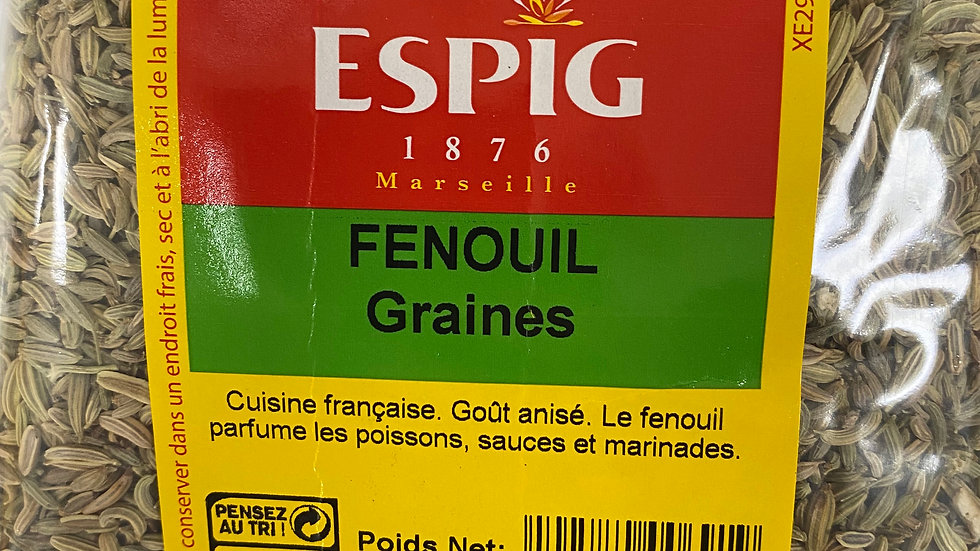 Fenouil (graines) 100g