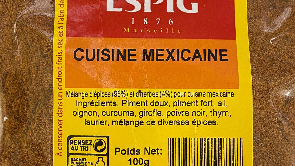 Cuisine mexicaine 100g
