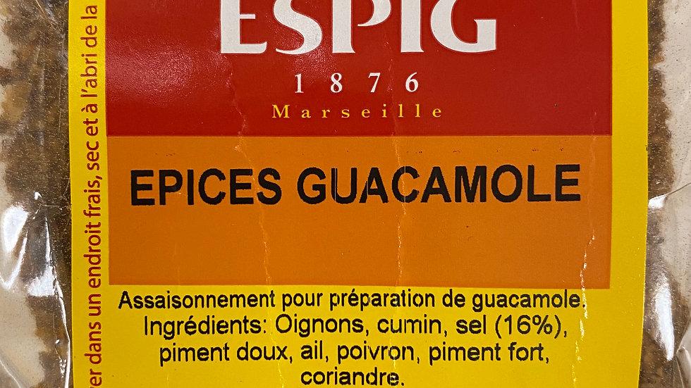 Epices Guacamole 100g