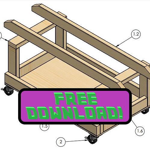 RSKI jetski shop cart plans PDF