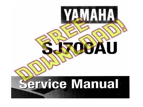 FREE Yamaha Superjet Service Manual PDF