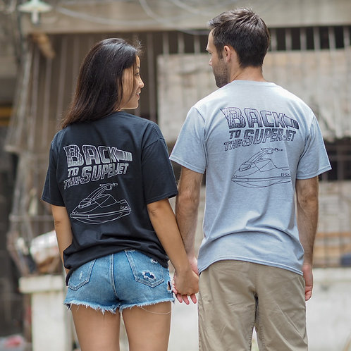 RSKI Back to the Superjet T-shirt