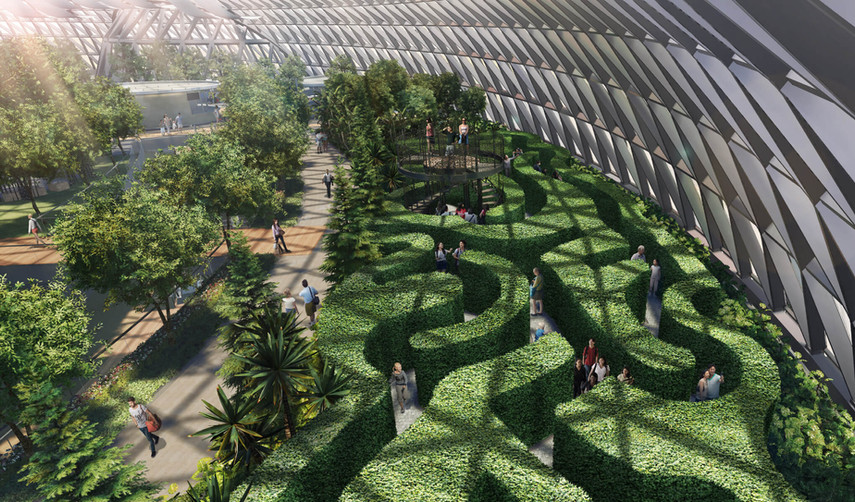 Jewel Changi Airport Canopy Maze