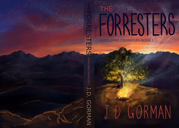 Cover 2 Mock-up of Forresters Book