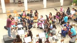 Ensayo Orquestas de Licantén