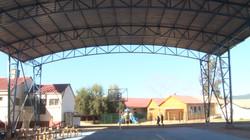 Inauguración de techo en E. Básica