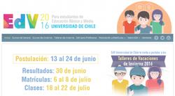 Cursos de Invierno en la U. de chile