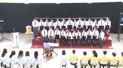 Coro del LASV en E. Media