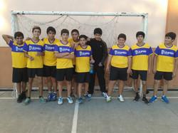 Equipo de balonmano al provincial