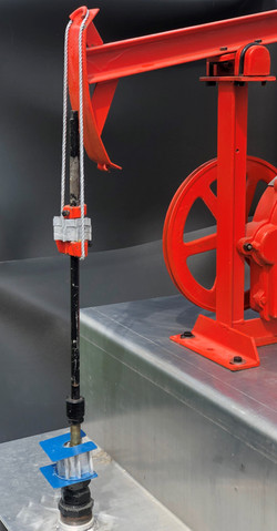 Pump Jack with Spacers and Suitcase in P