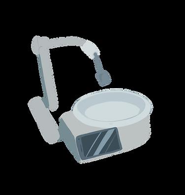 Neater Eater Robotic, illustartion, no background