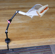 Table Mounted Snack Holder