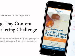 Welcome to the iApotheca 30-Day Content Marketing Challenge!