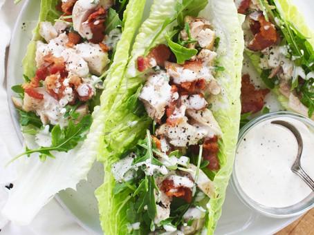 Keto Bacon Chicken Salad