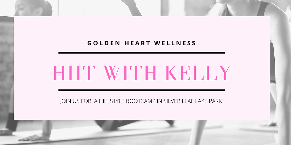 HIIT With Kelly