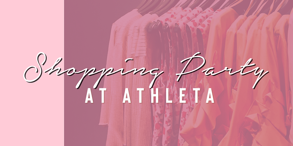 Athleta Shopping Party With Golden Heart Wellness