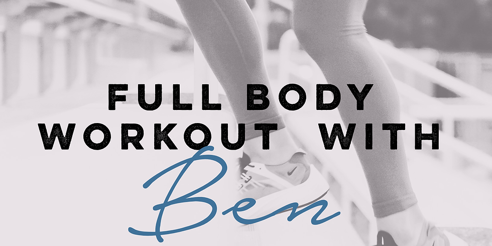 Full Body Workout with Ben