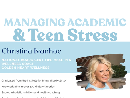 Managing Academic & Teen Stress