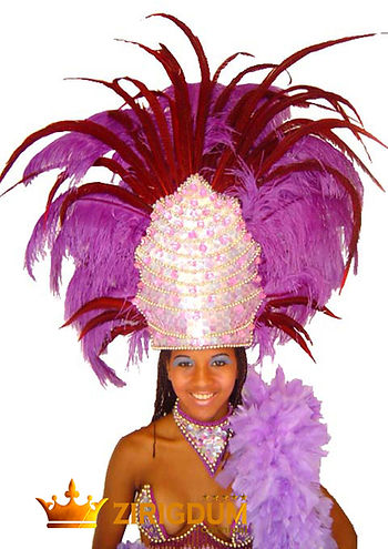 headdress pattern, music festival headdr