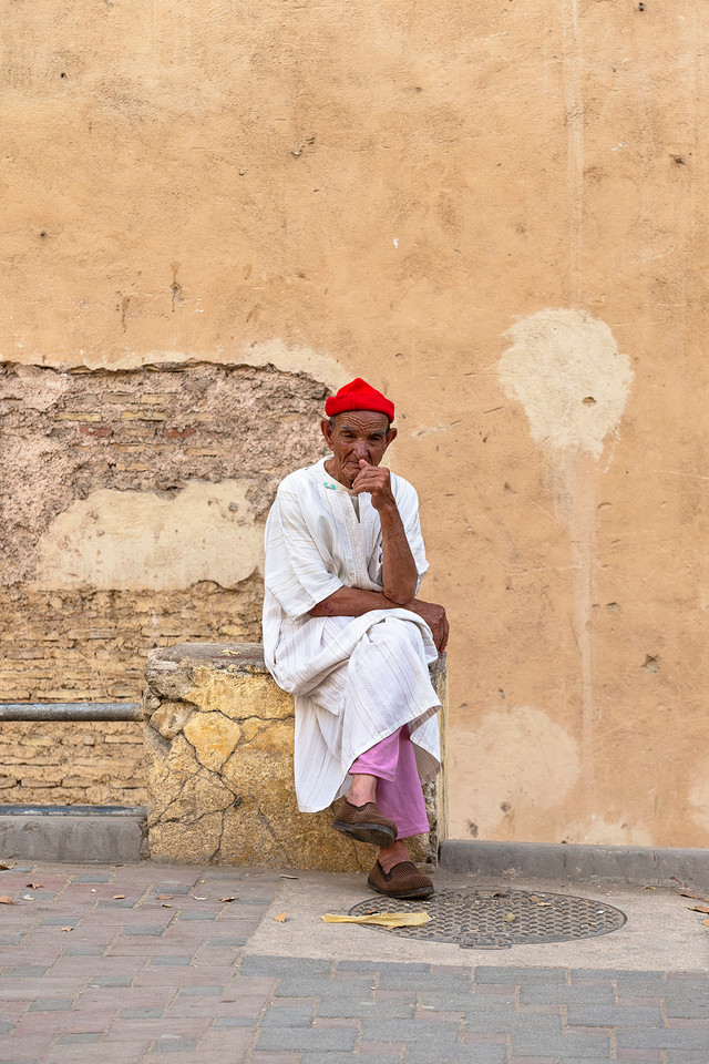 MOROCCAN RED BEANIE