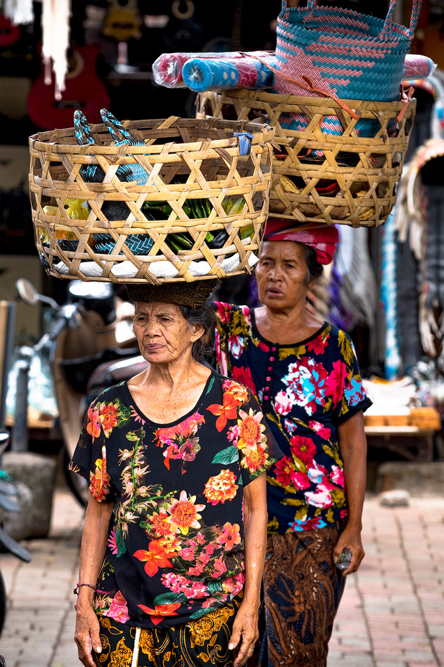THE LADIES OF THE UBUD MARKET