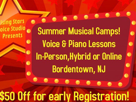 Save $50 Off for In-Person, Hybrid & Online Summer Camp