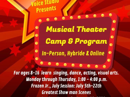 2 Great Summer Camps! In-Person,Hybrid & Online