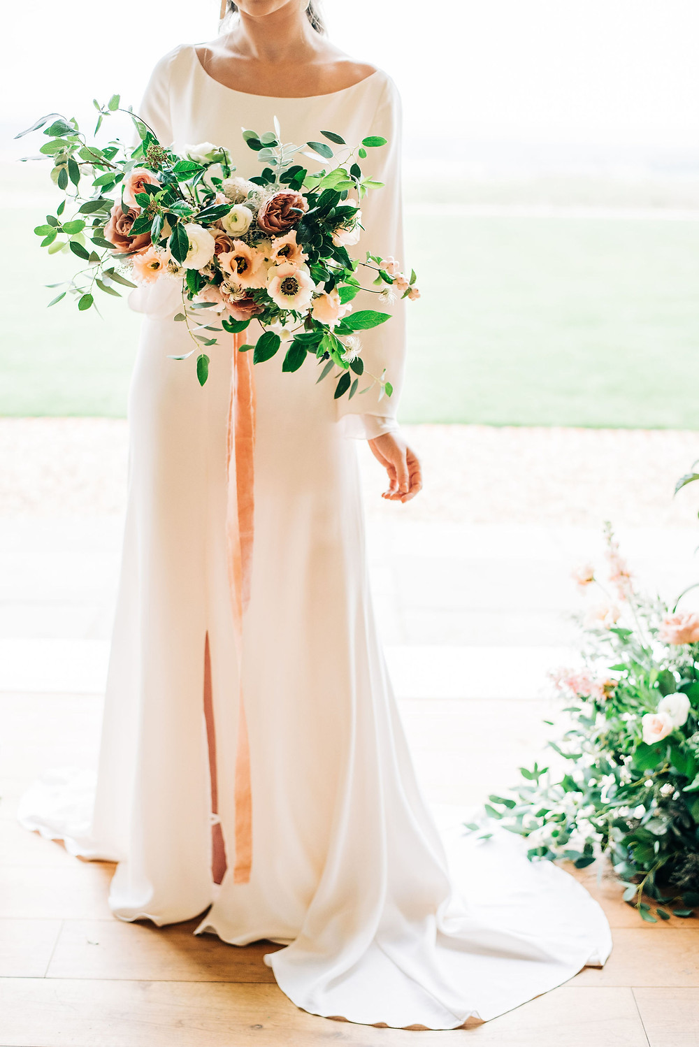 boho wedding dress wiltshire, modern wedding dress wiltshire, ethical wedding dress