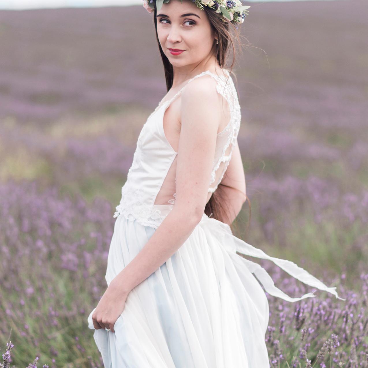 'Hollyhock' Bridal Separate