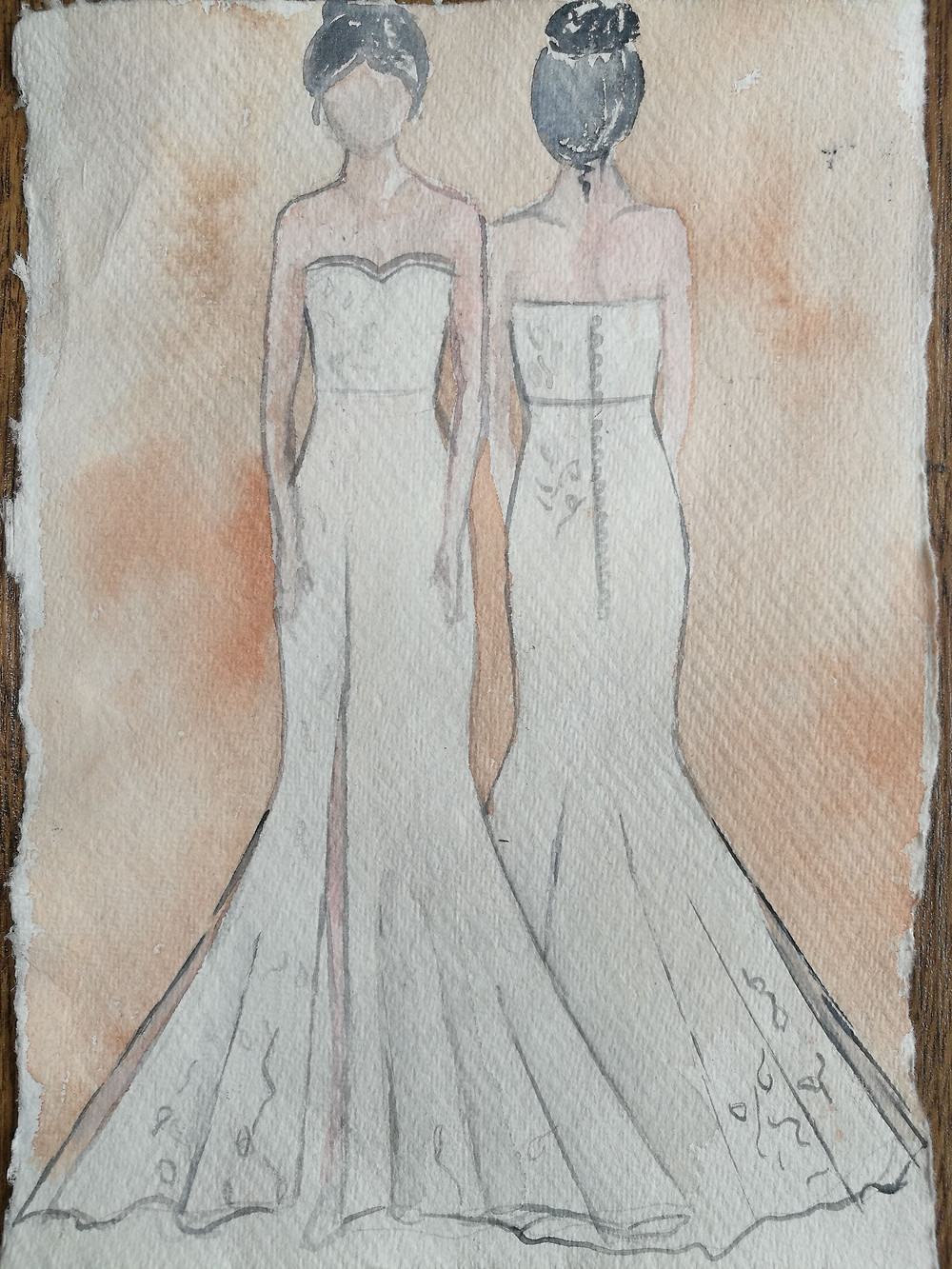 Jessica Turner Designs Honey bee collection 2020. Sustainable Fashion, sustainable bridal wear