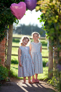 Bespoke Flower girl dresses.