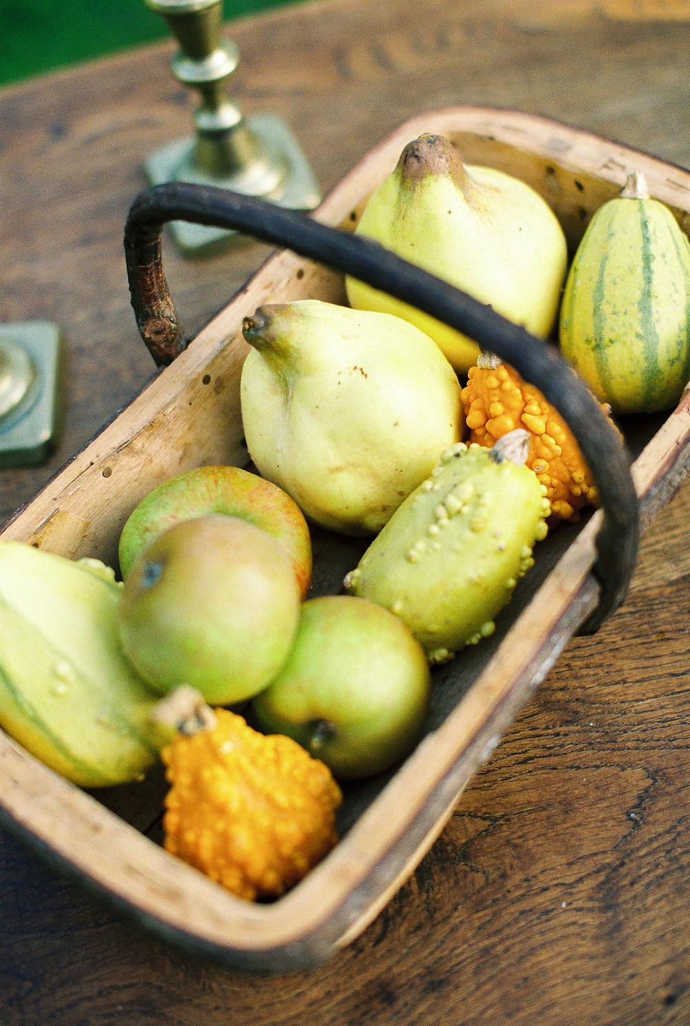 Fruit for an autumnal table setting, Jessica Turner Designs Blog